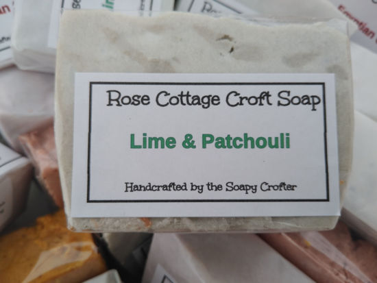 Lime and Patchouli Soap