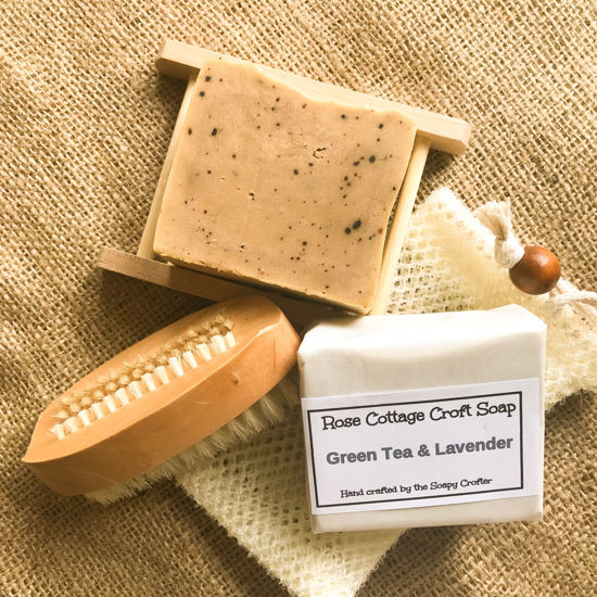 Green Tea and Lavender Soap