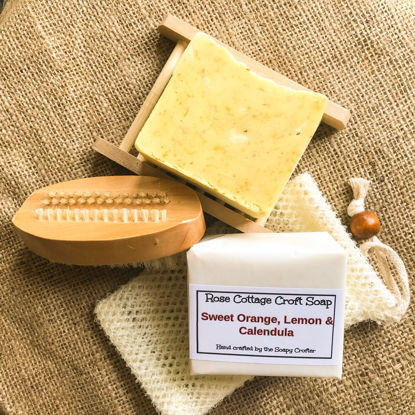 Sweet Orange, Lemon and Calendula Soap