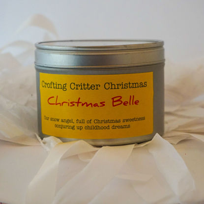 Christmas Belle Candle